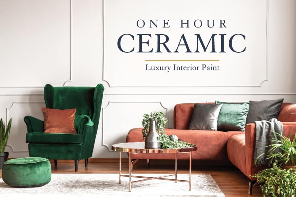 One Hour Ceramic Wall Paint
