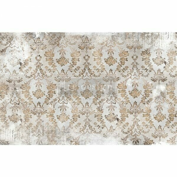 Decoupage Décor Tissue Paper - Washed Damask