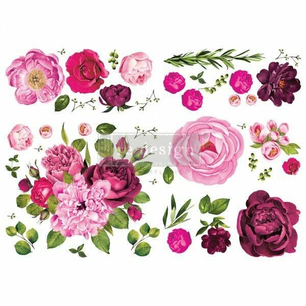 Lush Floral I Décor Transfer