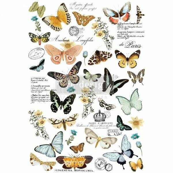 Butterfly Dance Décor Transfer