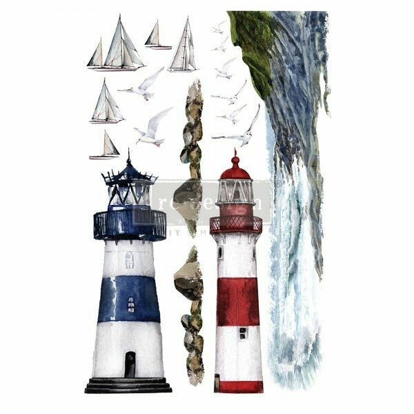 Lighthouse Décor Transfer