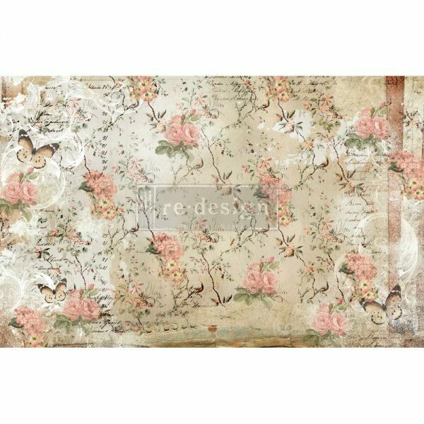Decoupage Décor Tissue Paper - Botanical Imprint
