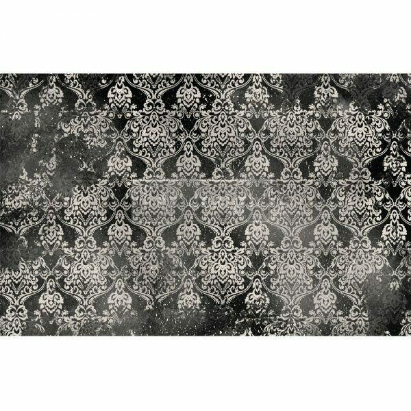 Decoupage Décor Tissue Paper - Dark Damask