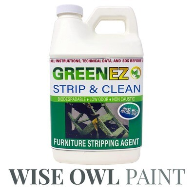 Green EZ Remove Furniture Stripper -  1/2 Gallon