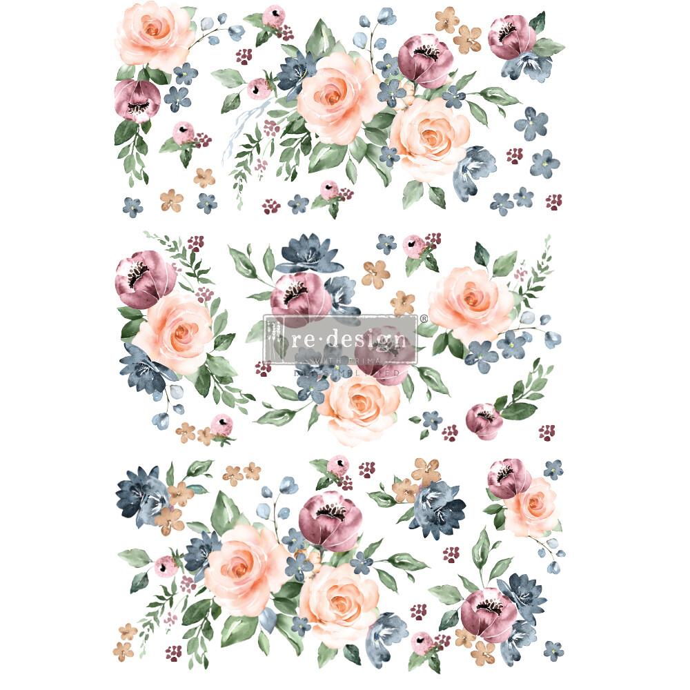 Décor Transfer - Watercolor Bloom