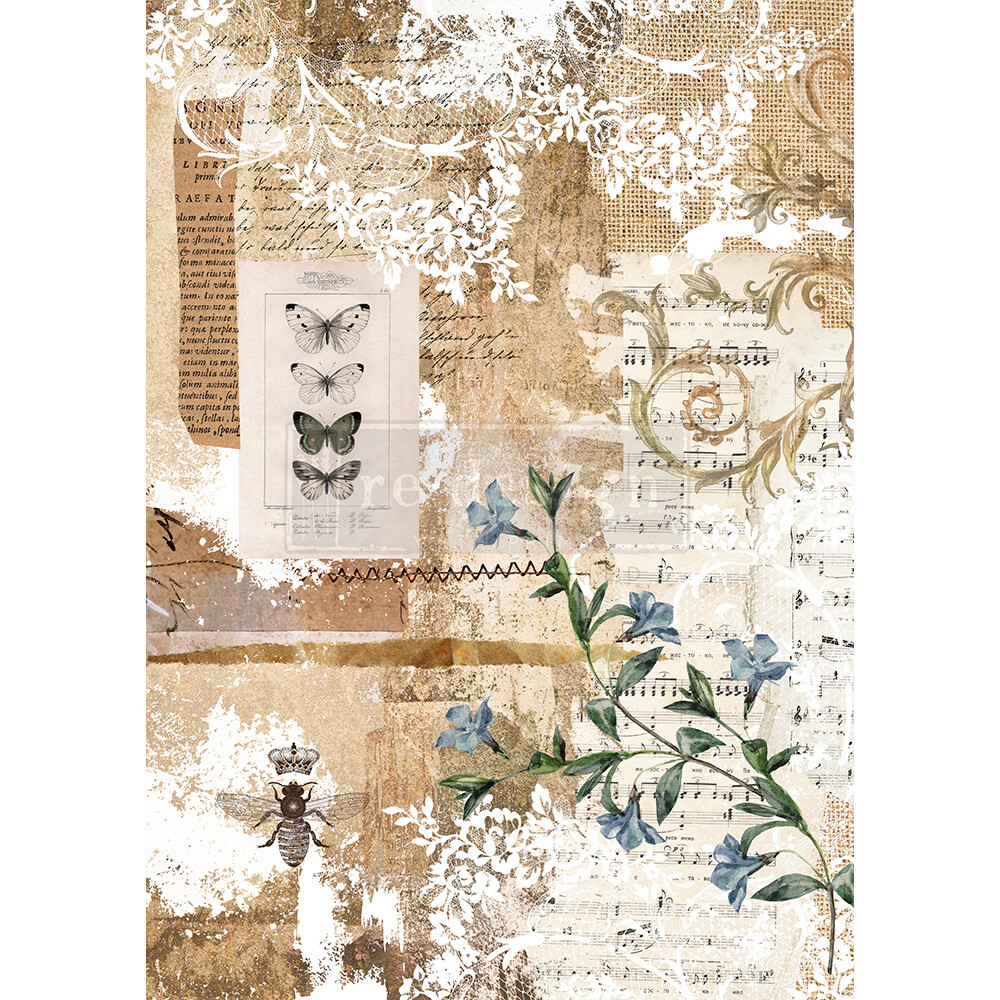 Decor Rice Paper - Botanical Sonata
