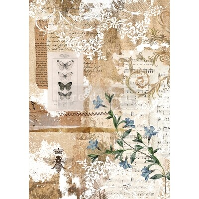 Decor Rice Paper - Botanical Sonata