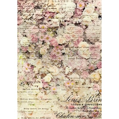 Decor Rice Paper - Floral and Dream