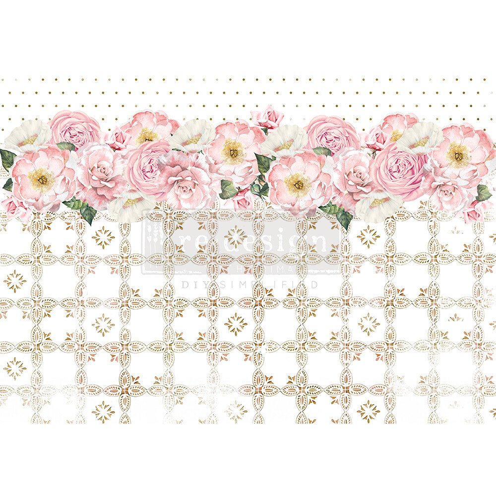 Decor Rice Paper - Tranquil Bloom