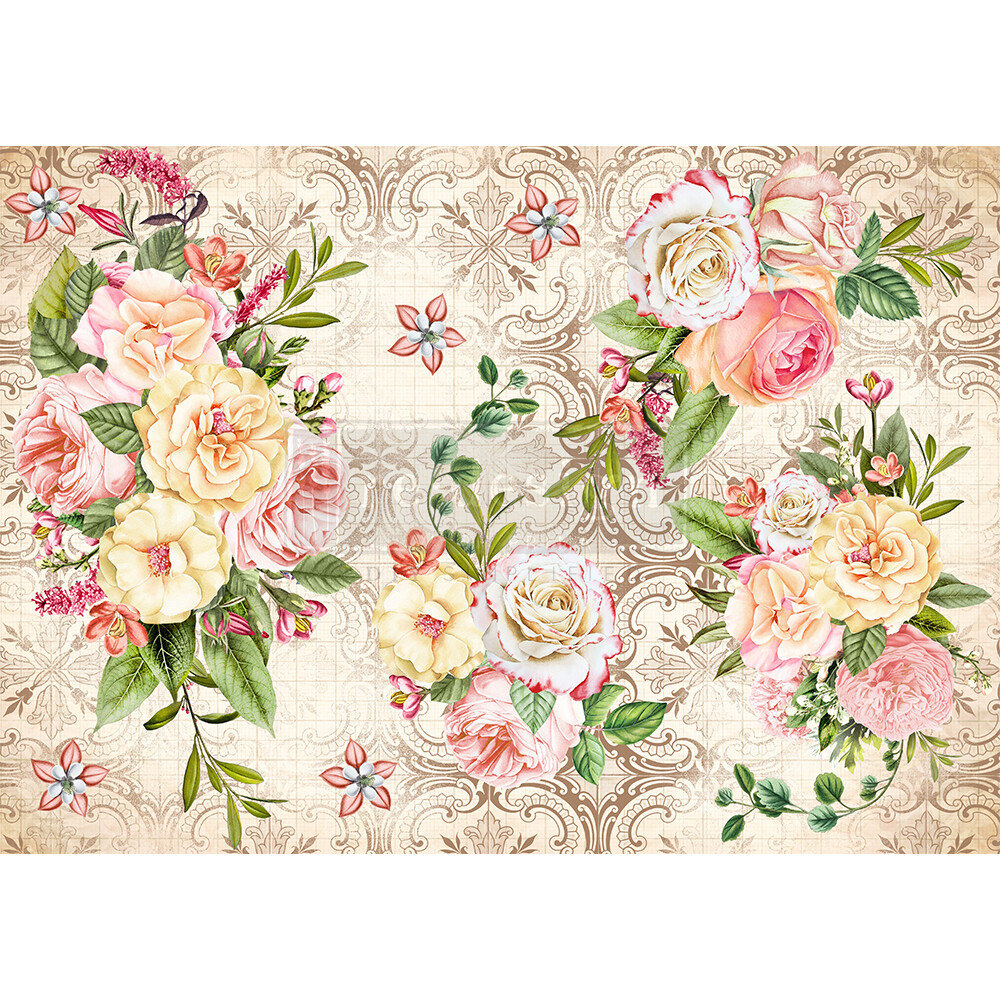 Decor Rice Paper - Amiable Roses