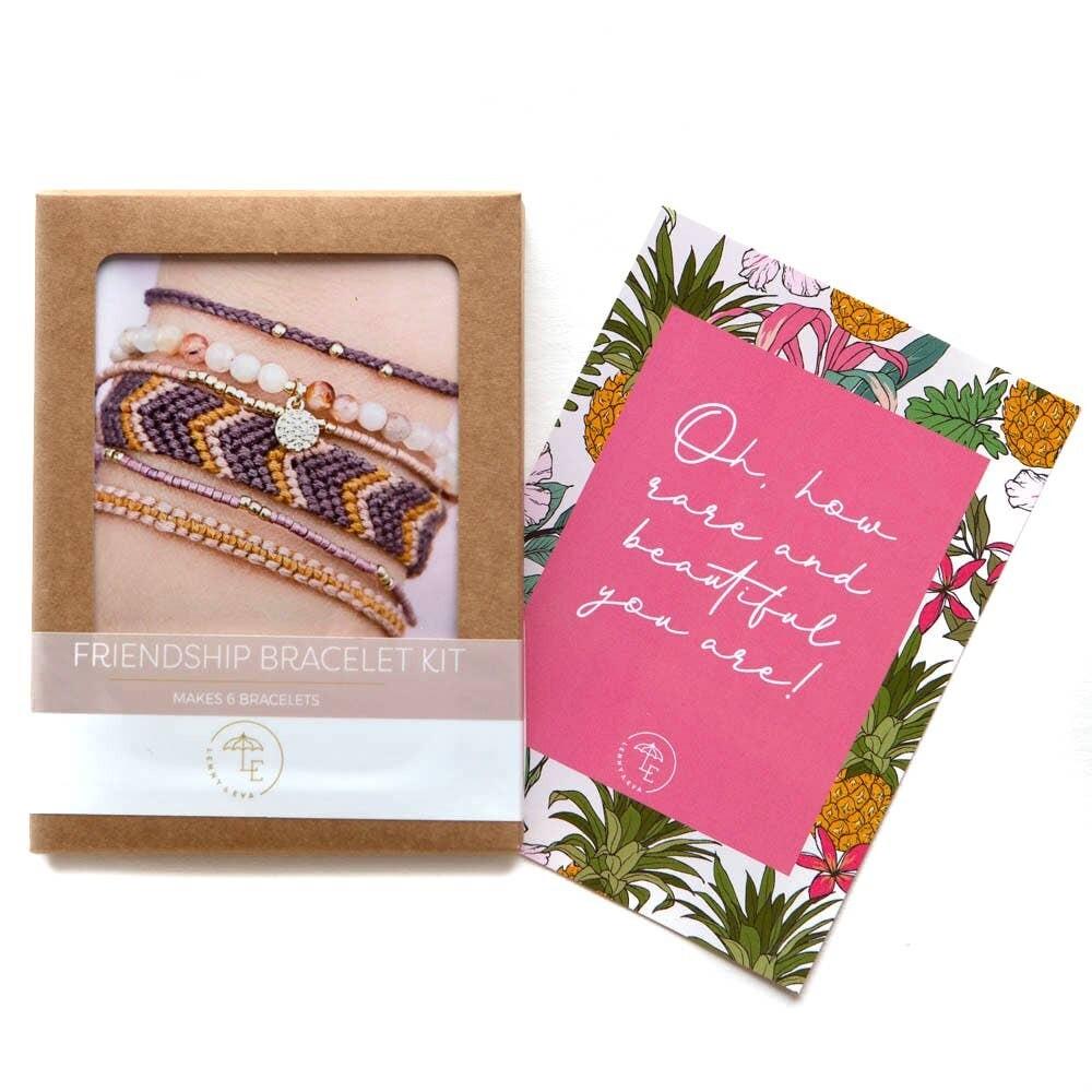DIY Friendship Bracelets Pack - Berry