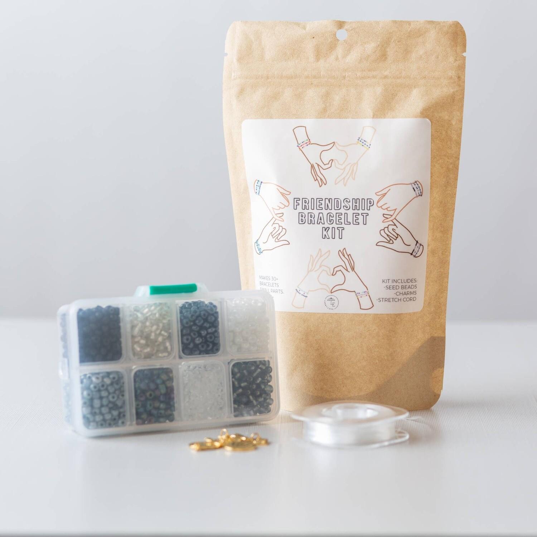 Seed Bead Friendship Bracelet Kit Pack - Night Sky