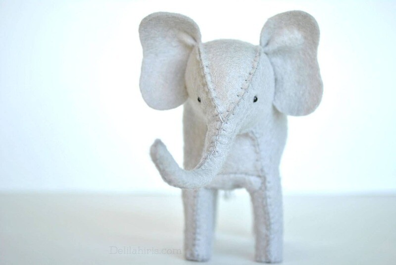 Stuffed Elephant Sewing Kit