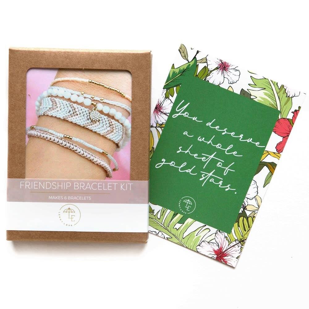 DIY Friendship Bracelets Pack - Blush
