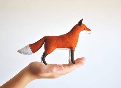 Felt Fox Craft Kit