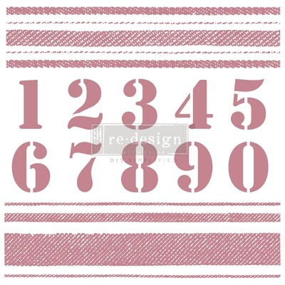 Decor Stamps: Stripes
