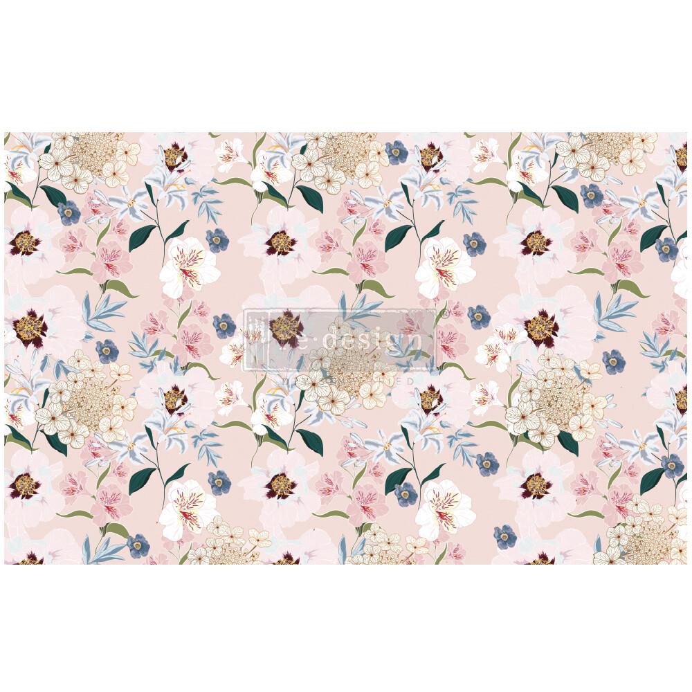 Decoupage Décor Tissue Paper - Blush Floral