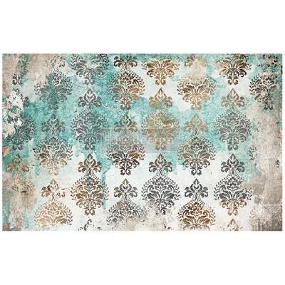 Decoupage Décor Tissue Paper - Patina Flourish