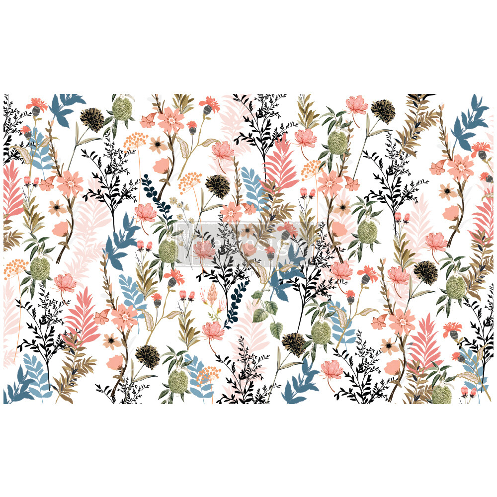 Decoupage Décor Tissue Paper - Pretty Meadows