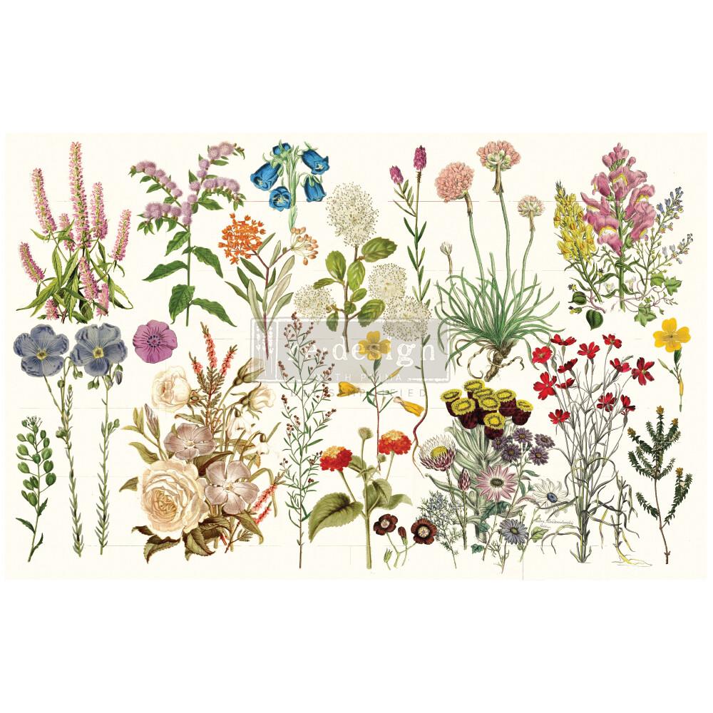 Decoupage Décor Tissue Paper - Wild Herbs