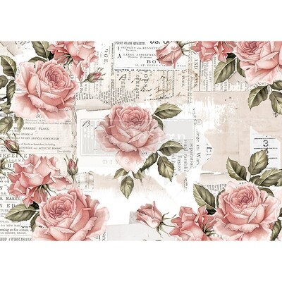 Decor Rice Paper - Floral Sweetness