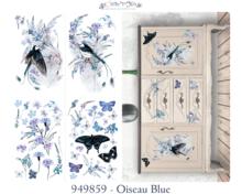 Décor Transfer - Oiseau Blue