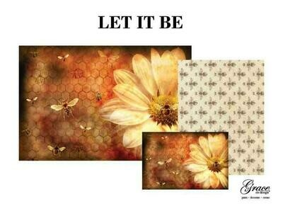 Let It Be Decoupage Pack