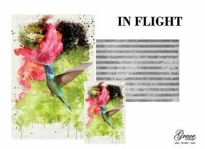 In Flight Decoupage Pack