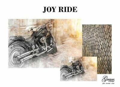 Joy Ride Decoupage Pack