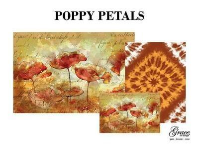 Poppy Petals Decoupage Pack