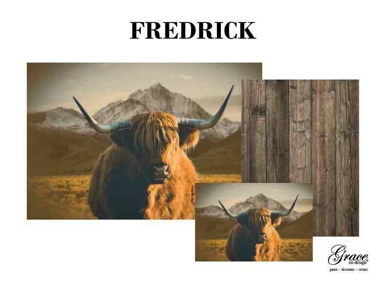 Fredrick Decoupage Pack