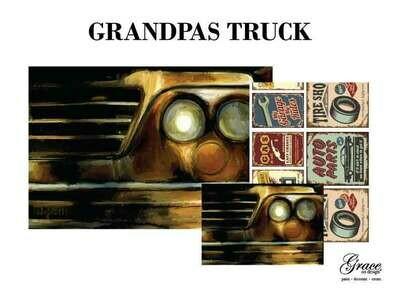 Grandpa's Truck Decoupage Pack