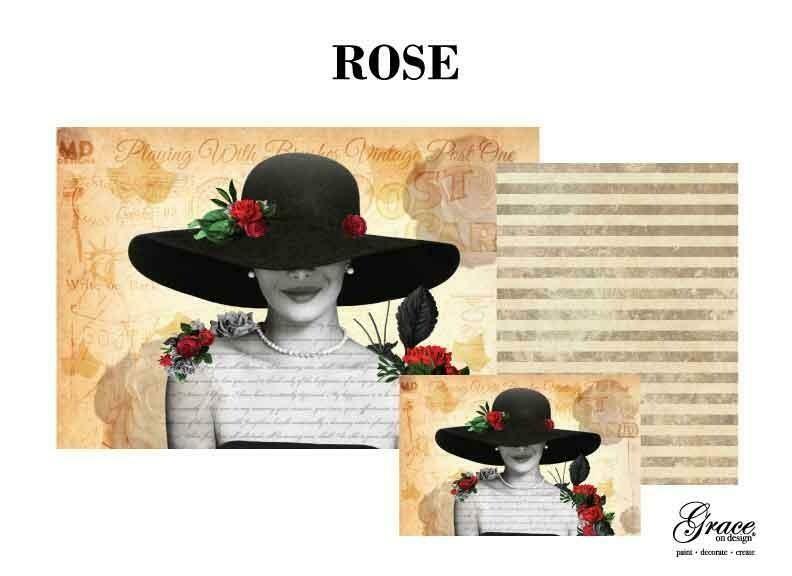 Rose Decoupage Pack