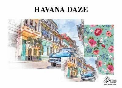 Havana Days Decoupage Pack