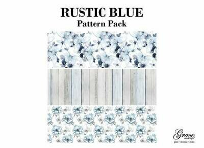 Rustic Blue Decoupage Pack