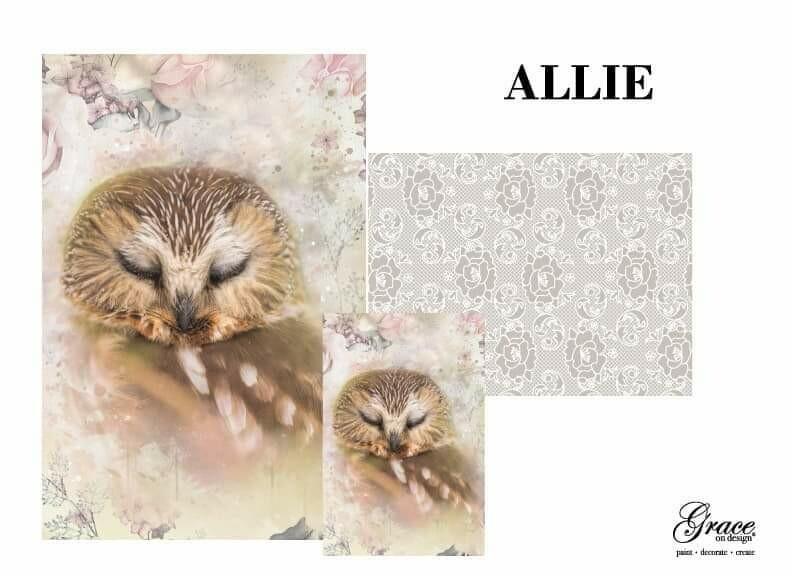 Owlie Decoupage Pack