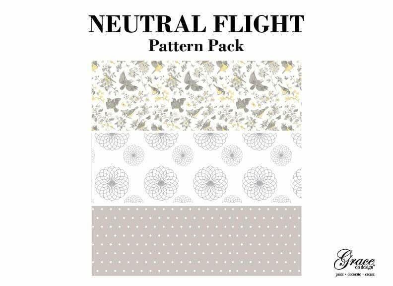Neutral Flight Decoupage Pack