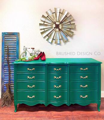 Emerald French Provincial Dresser