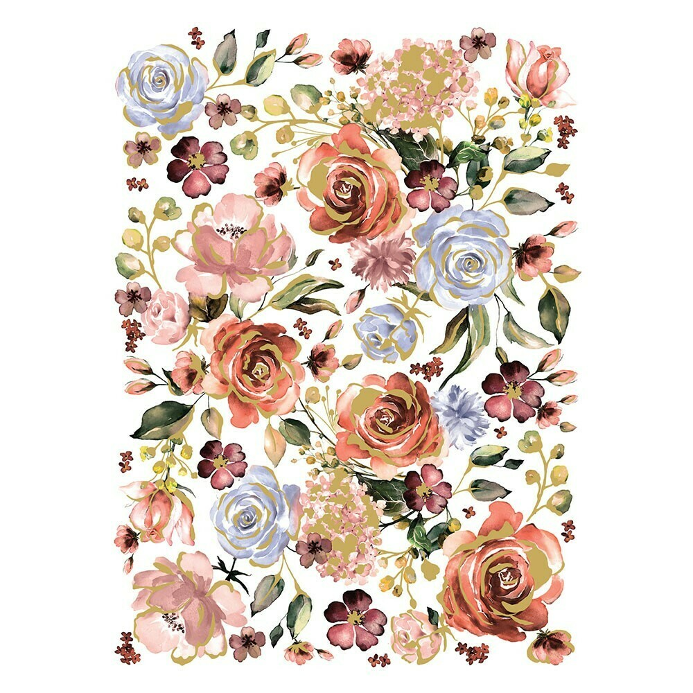 Décor Transfer - Rose and Rouge