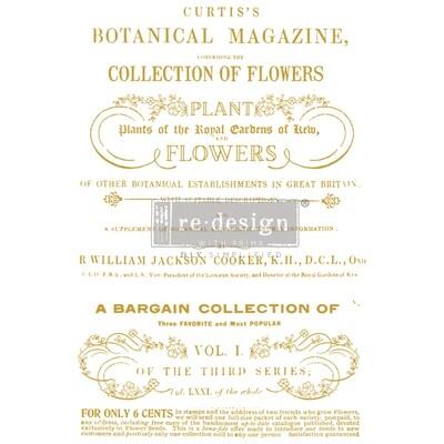 Décor Transfer - Flower Collector