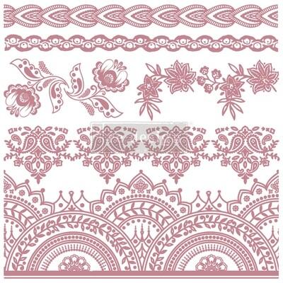 Decor Stamps: Bohemian Florals