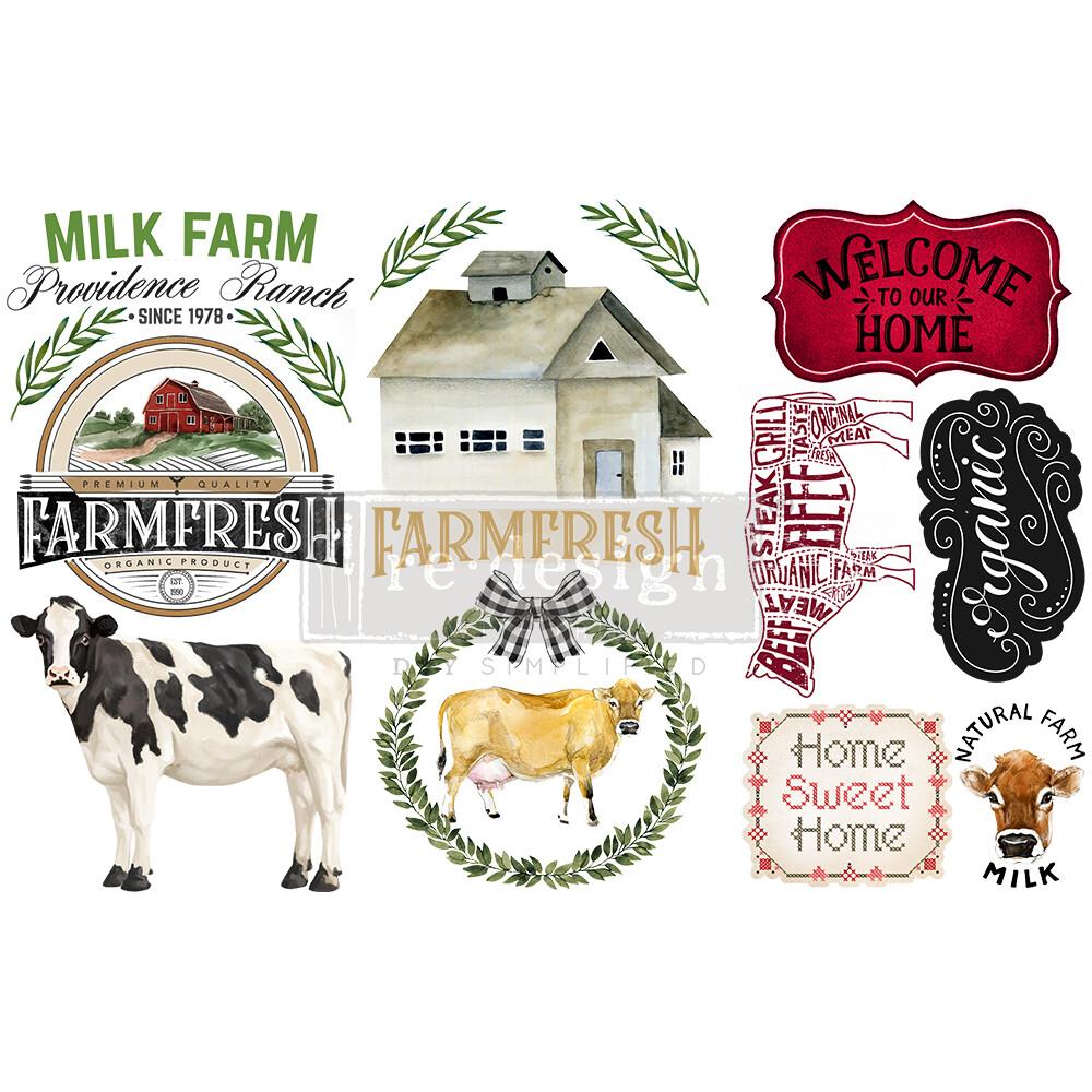 Small Decor Transfer - Home and Farm