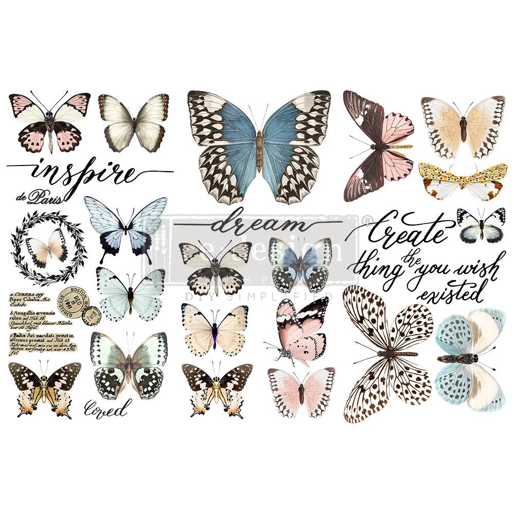 Small Decor Transfer - Papillon Collection