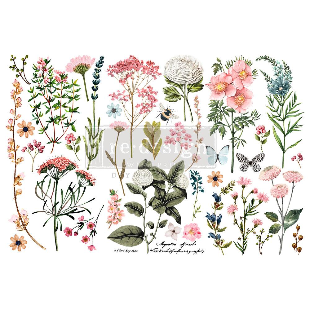 Small Decor Transfer - Botanical Paradise