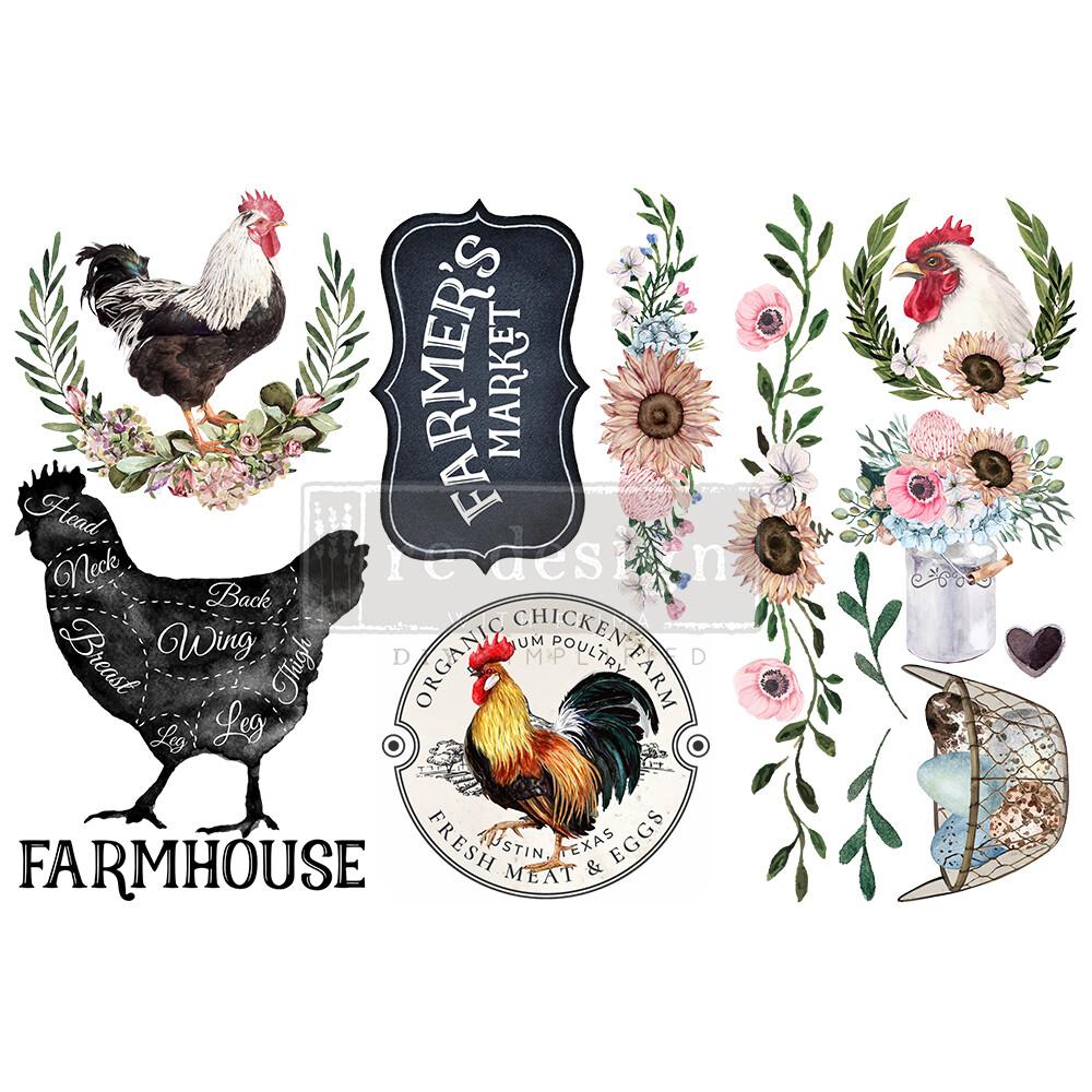 Small Decor Transfer - Morning Farmhouse
