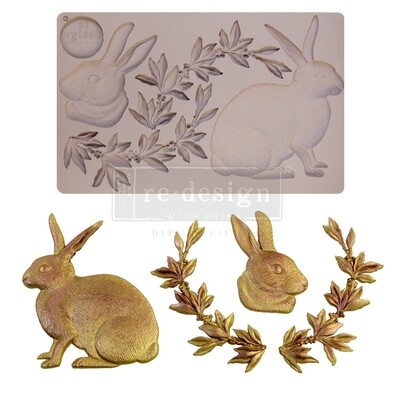 Décor Mould - Meadow Hare