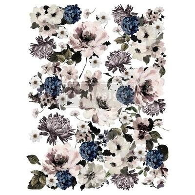 Décor Transfer - Dark Floral