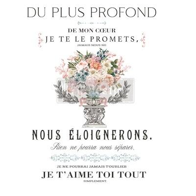 Décor Transfer - Royal Bouquet