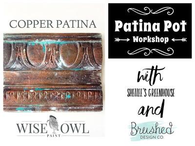 Patina Pot Workshop at Shellee's Greenhouse