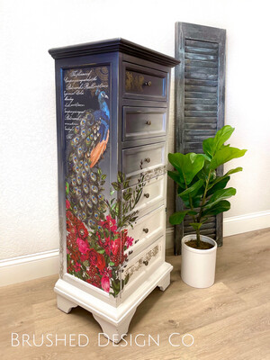 Pretty as a Peacock Dresser
